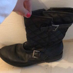 Shoes - Black Steve Madden boots